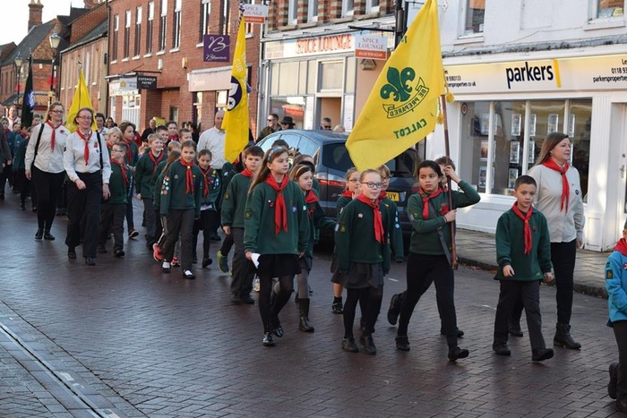 Remembrance Day Parade and Service 2018